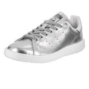 adidas :: Stan Smith Metallic Silver